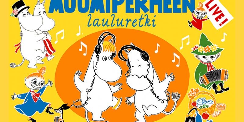 Muumiperheen lauluretki avaa nosturin lastenkonserttien sarjan